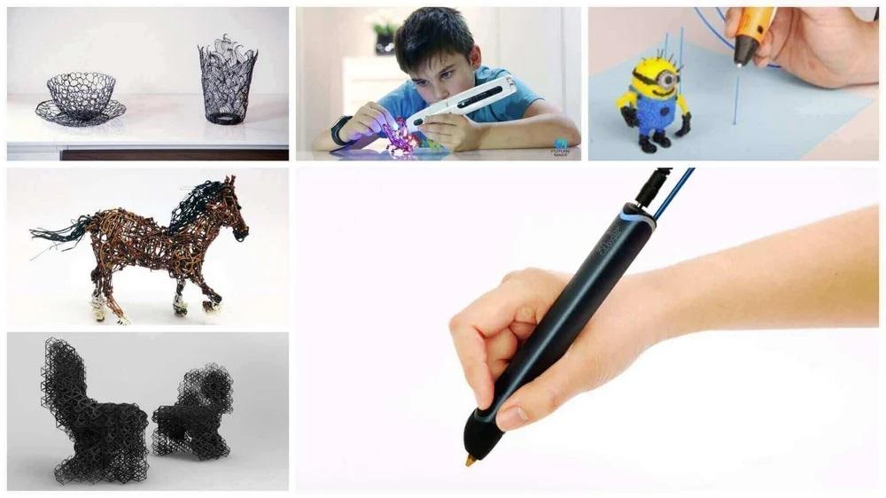 3D Kalemle Bir Şeyler Çizin